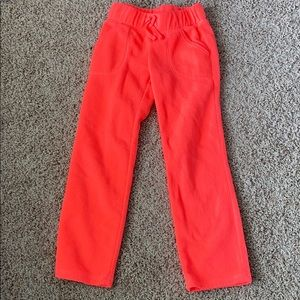 EUC Coral Fleece Pants with Pockets